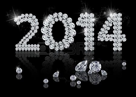 Année 2014 19274986-brilliant-nouvelle-annee-2014-est-une-illustration-de-bijoux-de-diamant-sur-un-fond-noir